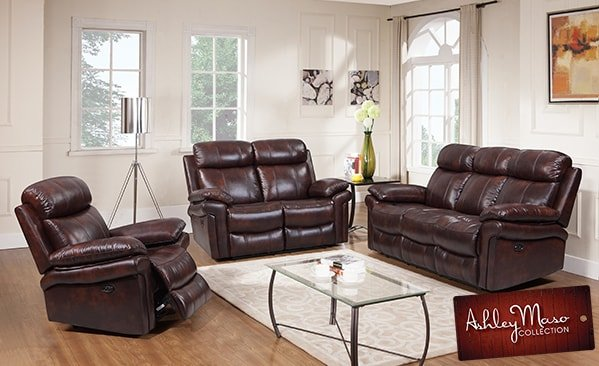 brown-leather-living-room-set