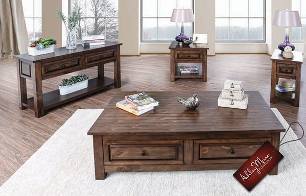 Brown Wood Coffee Tables