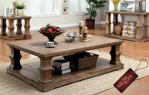 Coffee Tables Dark Wood