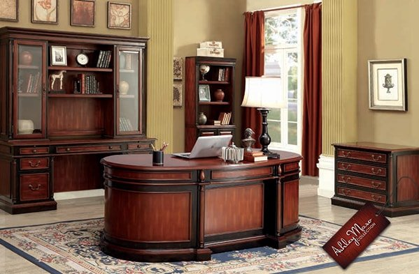 Contemporary Home Office Furniture Set