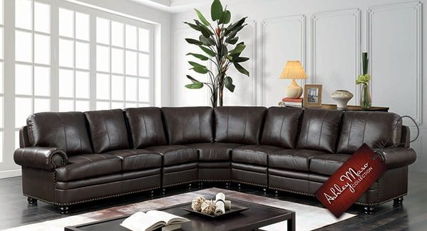 Large Brown Sectional