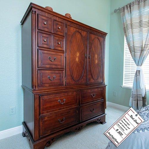 Large Wooden Dresser