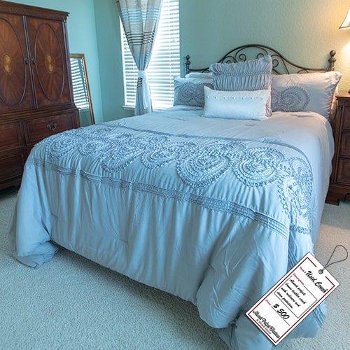 Metal Frame Queen Bed