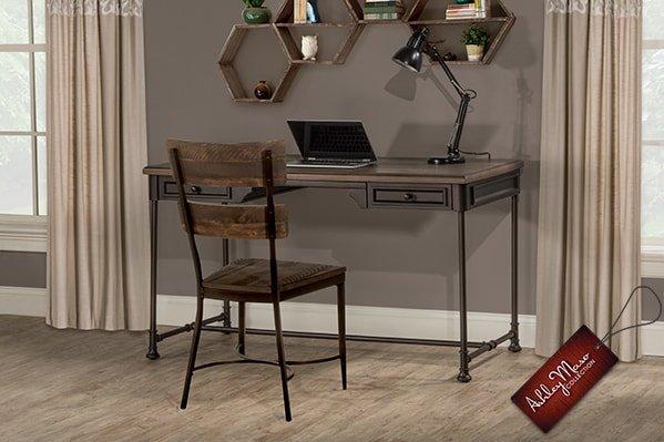 Metal Framed Desk