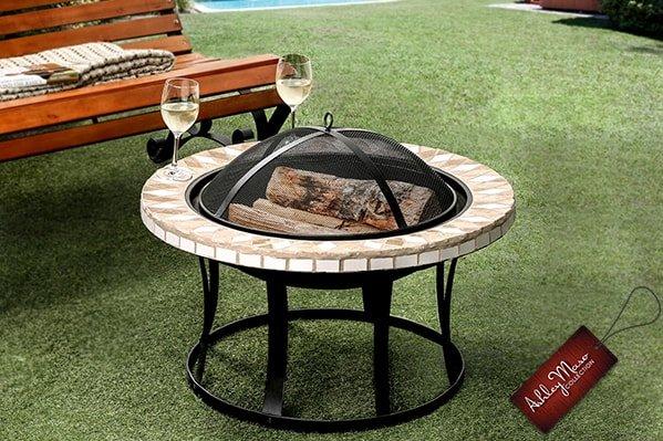 Modern Round Fire Pit