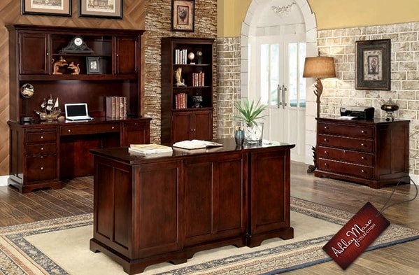Traditional Home Office Furniture Set