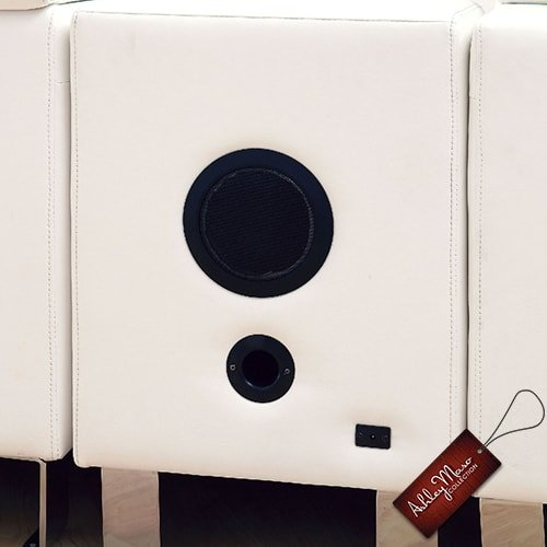 White Couch Speaker