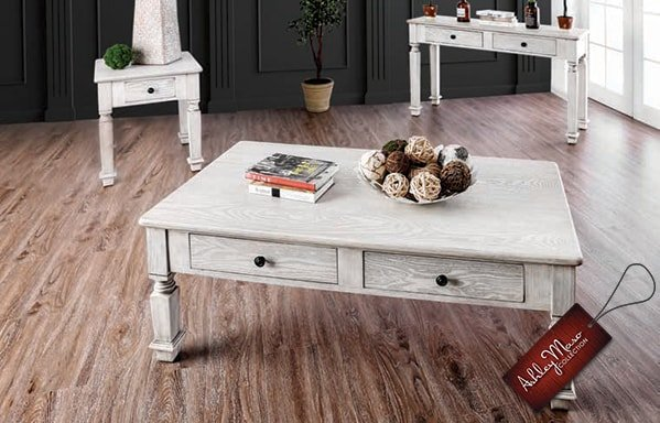 White Wood Coffee Tables