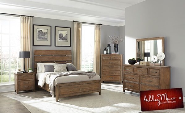 Wood Bedroom Set 2