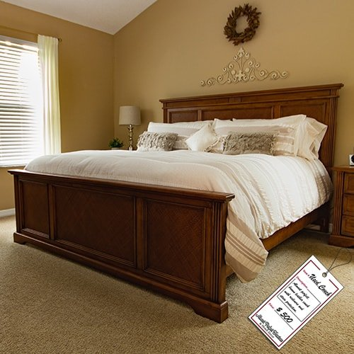 Wooden King Bed