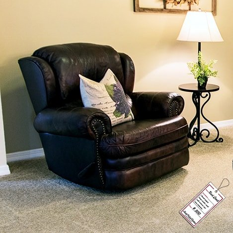dark-brown-leather-recliner