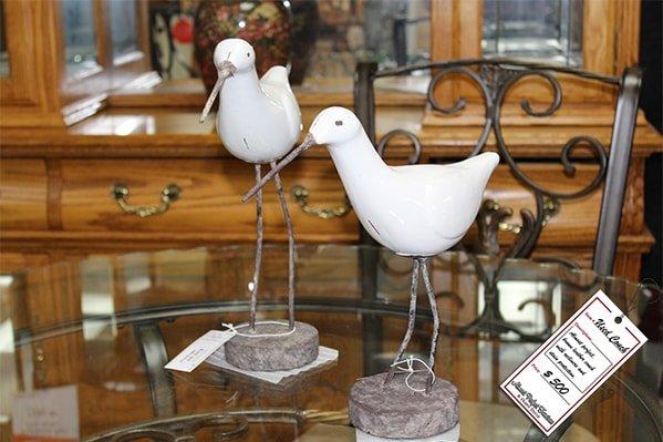 Bird Statues