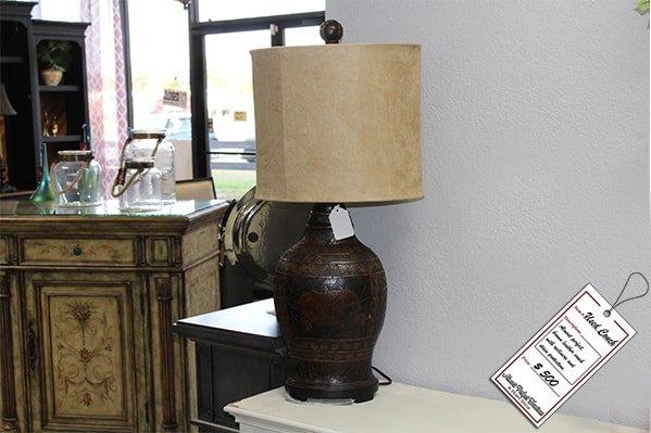 Dark Brown Lamp
