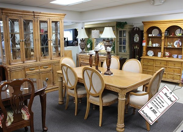 Light Brown Dining Room Set